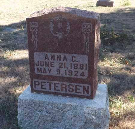 PETERSEN, ANNA C. - Washington County, Nebraska | ANNA C. PETERSEN - Nebraska Gravestone Photos