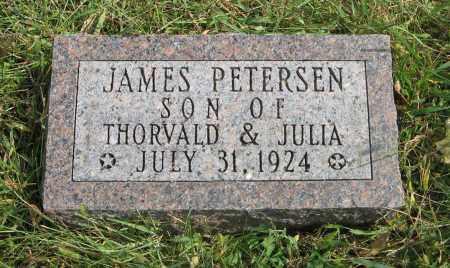 PETERSEN, JAMES - Washington County, Nebraska | JAMES PETERSEN - Nebraska Gravestone Photos