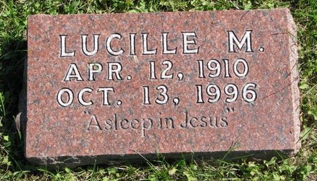 PETERSEN, LUCILLE M. - Washington County, Nebraska | LUCILLE M. PETERSEN - Nebraska Gravestone Photos