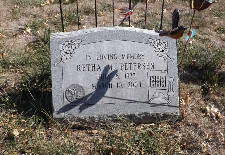 PETERSEN, RETHA M. - Washington County, Nebraska | RETHA M. PETERSEN - Nebraska Gravestone Photos
