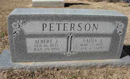 PETERSON, SADIA A. - Washington County, Nebraska | SADIA A. PETERSON - Nebraska Gravestone Photos