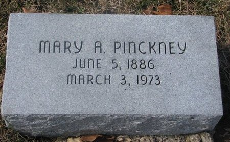 PINCKNEY, MARY A. - Washington County, Nebraska | MARY A. PINCKNEY - Nebraska Gravestone Photos
