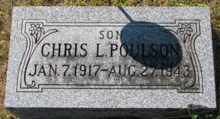 POULSON, CHRIS L. - Washington County, Nebraska   CHRIS L. POULSON - Nebraska Gravestone Photos