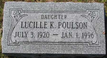 POULSON, LUCILLE K. - Washington County, Nebraska | LUCILLE K. POULSON - Nebraska Gravestone Photos