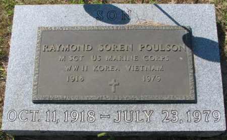 POULSON, RAYMOND SOREN - Washington County, Nebraska   RAYMOND SOREN POULSON - Nebraska Gravestone Photos