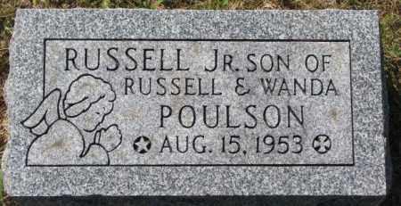 POULSON, RUSSELL JR. - Washington County, Nebraska   RUSSELL JR. POULSON - Nebraska Gravestone Photos