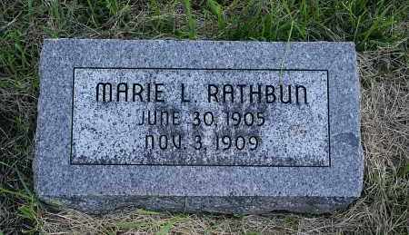 RATHBUN, MARIE L. - Washington County, Nebraska | MARIE L. RATHBUN - Nebraska Gravestone Photos