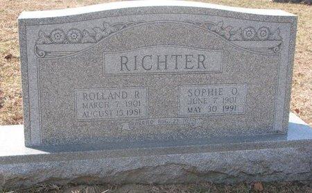 MILLER RICHTER, SOPHIE OLIVIA - Washington County, Nebraska | SOPHIE OLIVIA MILLER RICHTER - Nebraska Gravestone Photos