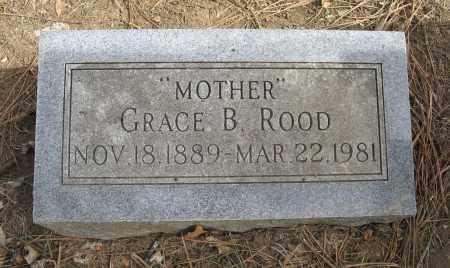 ROOD, GRACE B. - Washington County, Nebraska   GRACE B. ROOD - Nebraska Gravestone Photos