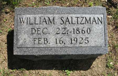 SALTZMAN, WILLIAM - Washington County, Nebraska   WILLIAM SALTZMAN - Nebraska Gravestone Photos