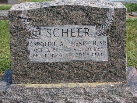 SCHEER, CAROLINE A. - Washington County, Nebraska | CAROLINE A. SCHEER - Nebraska Gravestone Photos