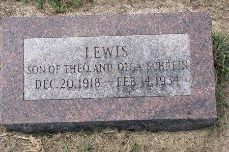 SCHREIN, LEWIS - Washington County, Nebraska | LEWIS SCHREIN - Nebraska Gravestone Photos