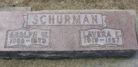 SCHURMAN, LAVERA E. - Washington County, Nebraska   LAVERA E. SCHURMAN - Nebraska Gravestone Photos