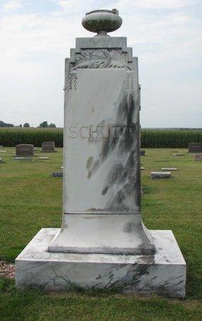SCHUTT, *FAMILY MONUMENT - Washington County, Nebraska | *FAMILY MONUMENT SCHUTT - Nebraska Gravestone Photos