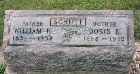SCHUTT, DORIS E. - Washington County, Nebraska | DORIS E. SCHUTT - Nebraska Gravestone Photos
