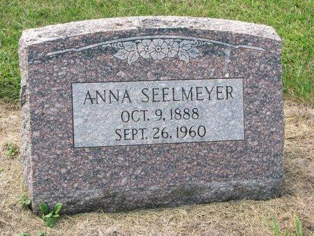SEELMEYER, ANNA - Washington County, Nebraska | ANNA SEELMEYER - Nebraska Gravestone Photos
