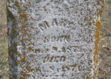 SHIPLEY, MARY (CLOSE UP) - Washington County, Nebraska | MARY (CLOSE UP) SHIPLEY - Nebraska Gravestone Photos