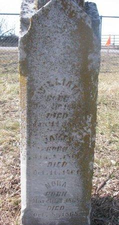 SHIPLEY, NORA - Washington County, Nebraska | NORA SHIPLEY - Nebraska Gravestone Photos