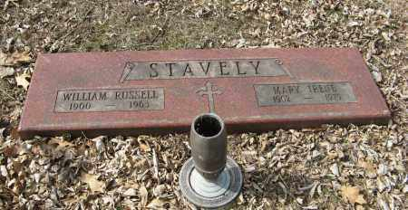 STAVELY, WILLIAM RUSSELL - Washington County, Nebraska | WILLIAM RUSSELL STAVELY - Nebraska Gravestone Photos