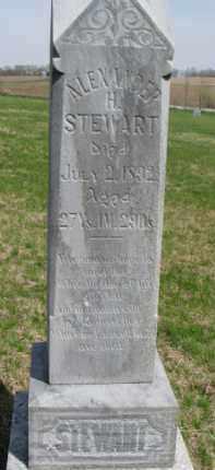 STEWART, ALEXANDER H. - Washington County, Nebraska | ALEXANDER H. STEWART - Nebraska Gravestone Photos