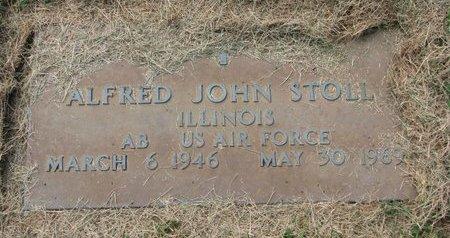 STOLL, ALFRED JOHN - Washington County, Nebraska | ALFRED JOHN STOLL - Nebraska Gravestone Photos