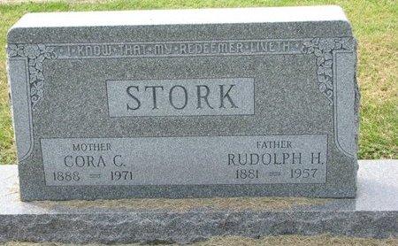 STORK, CORA C. - Washington County, Nebraska | CORA C. STORK - Nebraska Gravestone Photos