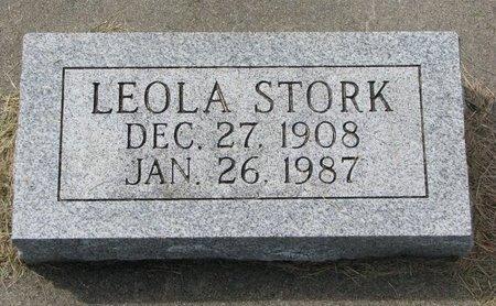 STORK, LEOLA - Washington County, Nebraska | LEOLA STORK - Nebraska Gravestone Photos