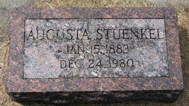 STUENKEL, AUGUSTA - Washington County, Nebraska | AUGUSTA STUENKEL - Nebraska Gravestone Photos
