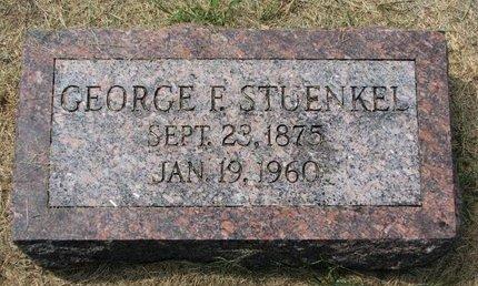 STUENKEL, GEORGE - Washington County, Nebraska   GEORGE STUENKEL - Nebraska Gravestone Photos