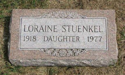 STUENKEL, LORAINE - Washington County, Nebraska | LORAINE STUENKEL - Nebraska Gravestone Photos