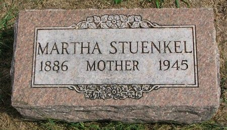 STUENKEL, MARTHA - Washington County, Nebraska | MARTHA STUENKEL - Nebraska Gravestone Photos
