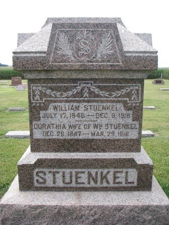 STUENKEL, DORATHIA - Washington County, Nebraska | DORATHIA STUENKEL - Nebraska Gravestone Photos