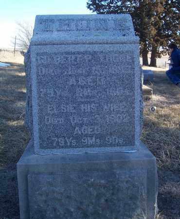 THONE, GILBERT P. - Washington County, Nebraska | GILBERT P. THONE - Nebraska Gravestone Photos