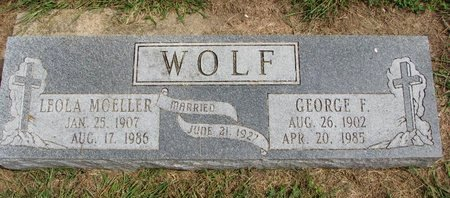 WOLF, GEORGE F. - Washington County, Nebraska | GEORGE F. WOLF - Nebraska Gravestone Photos