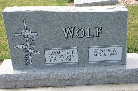 WOLF, ARNITA A. - Washington County, Nebraska | ARNITA A. WOLF - Nebraska Gravestone Photos