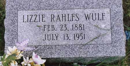 WULF, ELISE ALWINE (LIUZZIE - Washington County, Nebraska   ELISE ALWINE (LIUZZIE WULF - Nebraska Gravestone Photos