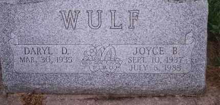 CHRISTENSEN WULF, JOYCE BERNETTE - Washington County, Nebraska | JOYCE BERNETTE CHRISTENSEN WULF - Nebraska Gravestone Photos