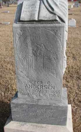 ANDERSEN, PETER C. - Wayne County, Nebraska   PETER C. ANDERSEN - Nebraska Gravestone Photos