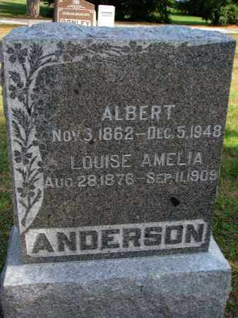ANDERSON, LOUISE AMELIA - Wayne County, Nebraska | LOUISE AMELIA ANDERSON - Nebraska Gravestone Photos