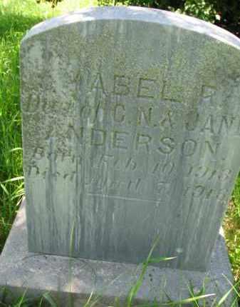 ANDERSON, MABEL R. - Wayne County, Nebraska | MABEL R. ANDERSON - Nebraska Gravestone Photos