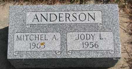 ANDERSON, JODY L. - Wayne County, Nebraska | JODY L. ANDERSON - Nebraska Gravestone Photos