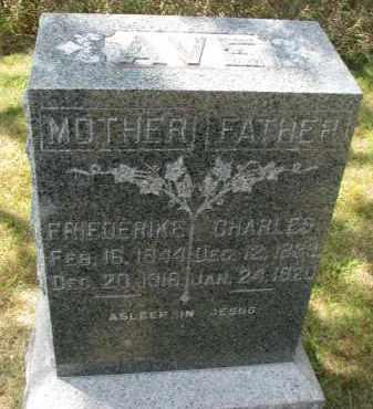 AVE, CHARLES - Wayne County, Nebraska | CHARLES AVE - Nebraska Gravestone Photos