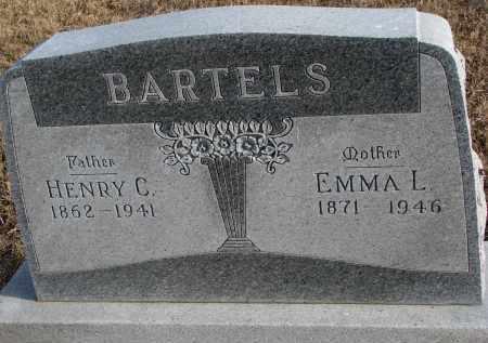 BARTELS, HENRY C. - Wayne County, Nebraska | HENRY C. BARTELS - Nebraska Gravestone Photos