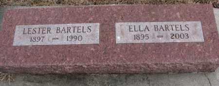 BARTELS, LESTER - Wayne County, Nebraska   LESTER BARTELS - Nebraska Gravestone Photos