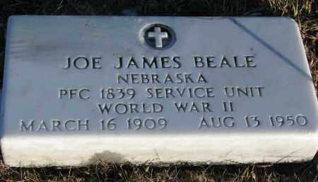 BEALE, JOE JAMES - Wayne County, Nebraska   JOE JAMES BEALE - Nebraska Gravestone Photos