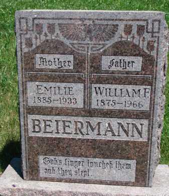 BEIERMANN, WILLIAM F. - Wayne County, Nebraska | WILLIAM F. BEIERMANN - Nebraska Gravestone Photos