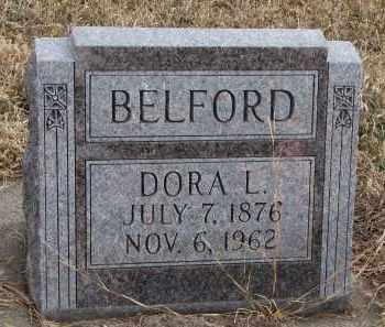 BELFORD, DORA L. - Wayne County, Nebraska | DORA L. BELFORD - Nebraska Gravestone Photos