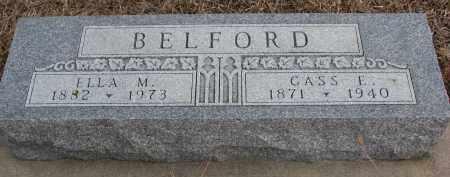 BELFORD, ELLA M. - Wayne County, Nebraska | ELLA M. BELFORD - Nebraska Gravestone Photos