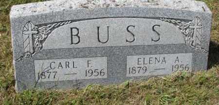 BUSS, CARL F. - Wayne County, Nebraska | CARL F. BUSS - Nebraska Gravestone Photos