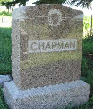 CHAPMAN, FAMILY STONE - Wayne County, Nebraska   FAMILY STONE CHAPMAN - Nebraska Gravestone Photos